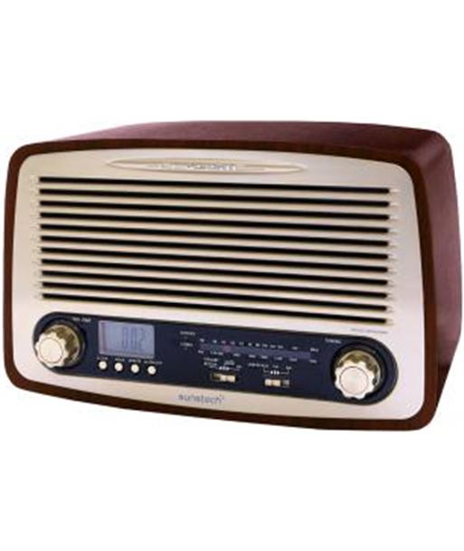 Sunstech radio madera retro rpr4000wd, - RPR4000WD