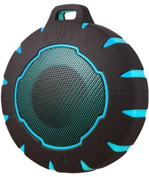 Altavoz bluetooth Sunstech SPBTAQUABL, azul/negro - SPBTAQUABL
