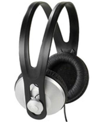 Vivanco stereo headphones, 1,8m cable, black,silver 36502