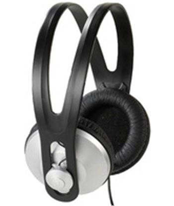 Vivanco stereo headphones, 1,8m cable, black,silver 36502