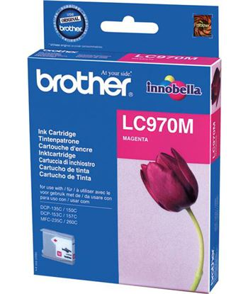Tinta magenta Brother 135/235 LC970M Consumibles - BROLC970M