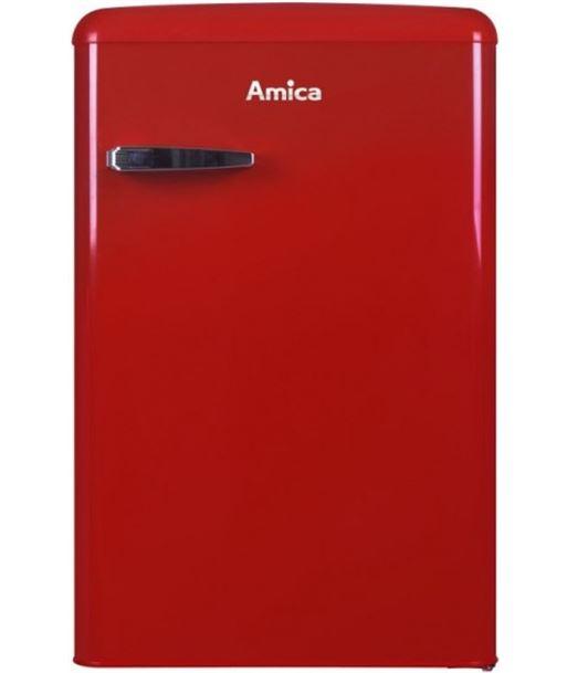 Frigorífico retro table top Amica KS15610R rojo - KS15610R