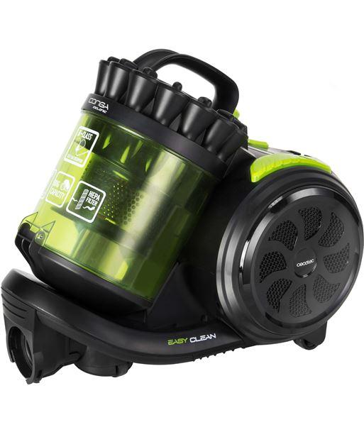 Cecotec aspirador de trineo 05024 800w sin bolsa negro/verde - 05024