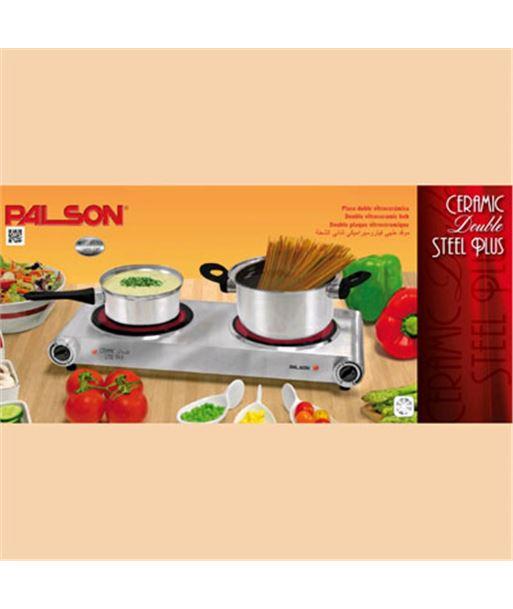 Placa vitroceramica Palson double steel plus ceramic STEEL2F - 8428428309918
