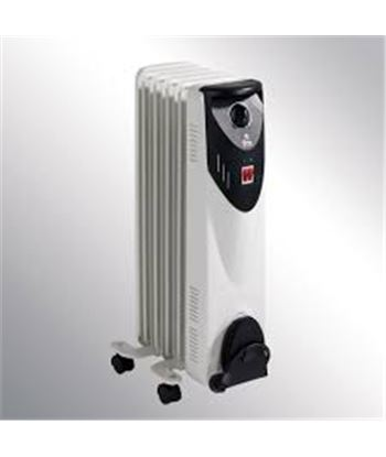 F.m. radiador de aceite fm rw10 serie rw 1000w, 5 elem