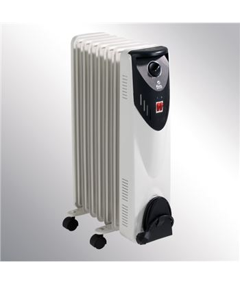 F.m. radiador de aceite fm rw15 serie rw 1500w, 7 elem