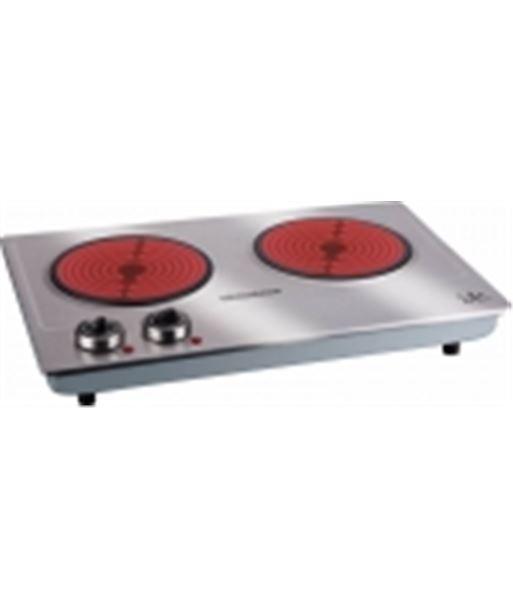 Hornillo electrico Jata V532, 2400w, 2 fuegos vitr - V532