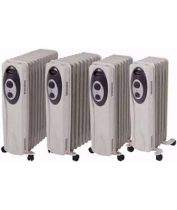 S&p radiador aceite sahara 2003 2000w (3 pot.) gris 5226832900