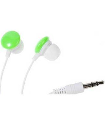 Stereo earphones color buds, green 34885 Vivanco