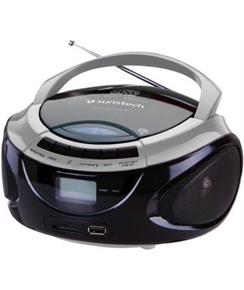 Radio cd Sunstech CRUSM395BTSL bluethooth, plata/n