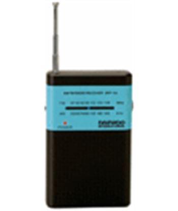 Radio am/fm analógica Daewoo drp-100 negraire acondicionado zul + auriculares DAEDBF134