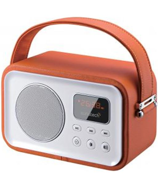 Radio portatil Sunstech rpbt450 or naranja RPBT45OR - RPBTBL450OR