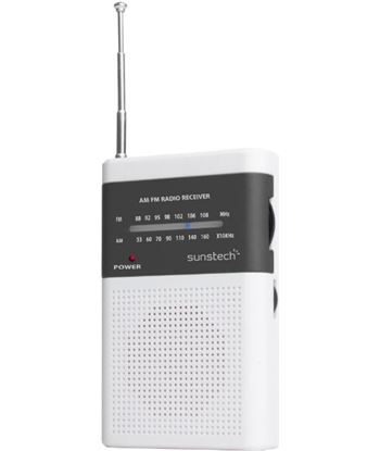 Radio bolsillo Sunstech RPS42WT altavoz blanco