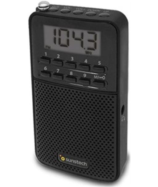 Radio portatil digital Sunstech RPDS81BK negro - RPDS81BK
