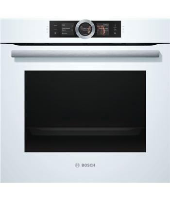 Bosch horno independiente  multifunción bosino frost hsg636bw1 vapor