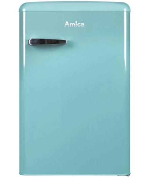 Frigorífico retro table top Amica KS15612T azul tu - KS15612T