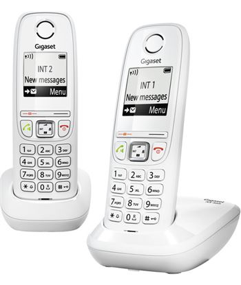 Nuevoelectro.com telefono inalambrico gigaset as405white, blanco - AS405WHITE