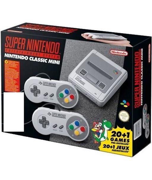 Consola super Nintendo classic mini snes + 2 mandos NIN2400166 - 2400166