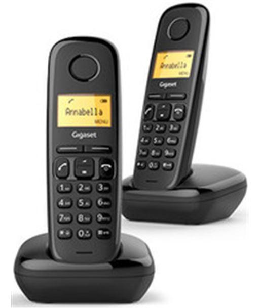 Nuevoelectro.com telefono inalambrico duo gigaset a170 negro a170duo - 4250366850788