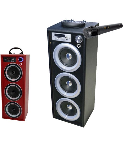 Torre sonido sobremesa usb/sd/fm/led/display Innova grana INNOTWBK5R - 8436034142096