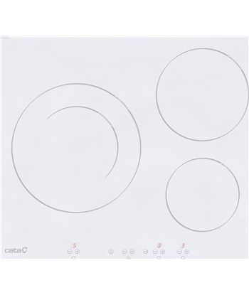 Cata IB6203WH vitroceramica inducción independiente ib 6203 wh 08073108 - IB6203WH