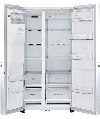 Lg GSL760SWXV frigorífico side by side , blanco Frigoríficos americanos - GSL760SWX
