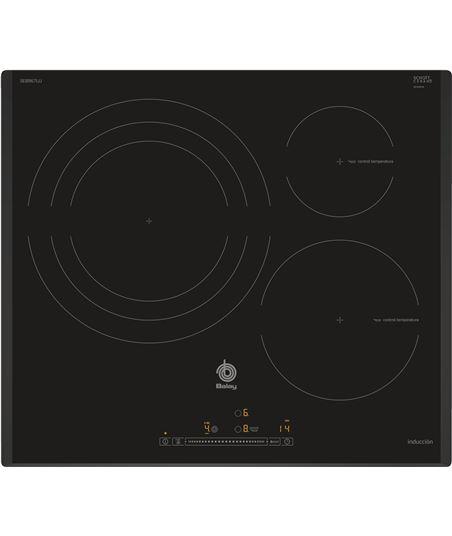 Placa inducción independiente  Balay 3EB967LU, 3 zonas bisel. - 3EB967LU