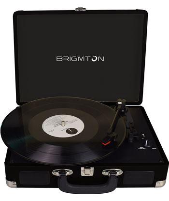 Brigmton tocadiscos portatil btc 404 n BRIBTC_404_N