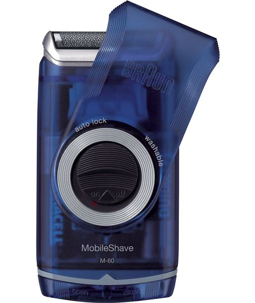 Afeitadora Braun*p&g pocket m60 pilas *new* M-60 - 570POCKETGO