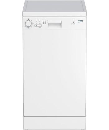 Beko lavavajillas dfs05013w, 45 cm de ancho, color blanco