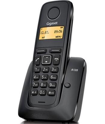 Siemens telefono inalambrico gigaset a120 negro Telefonía doméstica