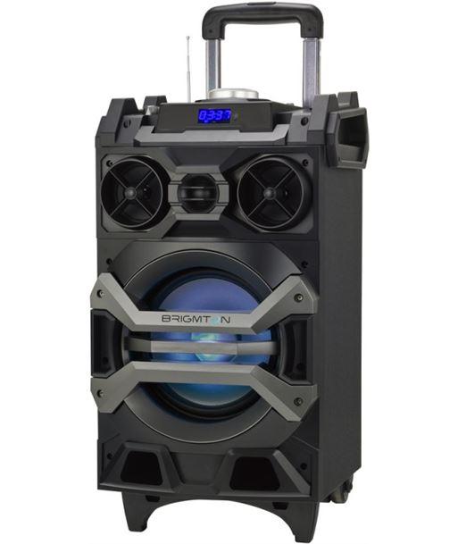 Altavoz trolley Brigmton bap750 bluetooth karaoke led BRIBAP750 - 8425081018508