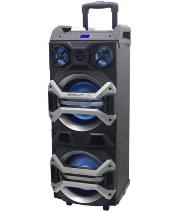 Altavoz trolley Brigmton bap900 bluetooth karaoke led BRIBAP900