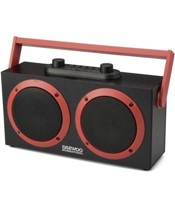 Altavoz daewoo Dsk-340 karaoke bluetooth fm usb sd negro DAEDBF231