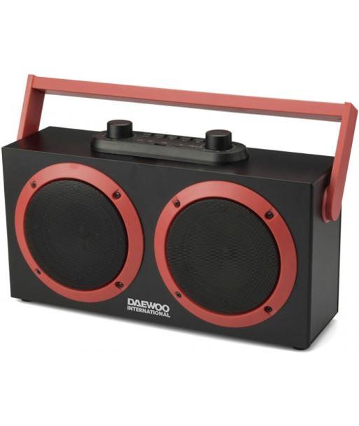 Altavoz daewoo Dsk-340 karaoke bluetooth fm usb sd negro DAEDBF231 - 8413240601951