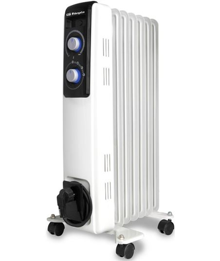 Radiador aceite Orbegozo RF1500 7 elementos 1500w - 8436044537004