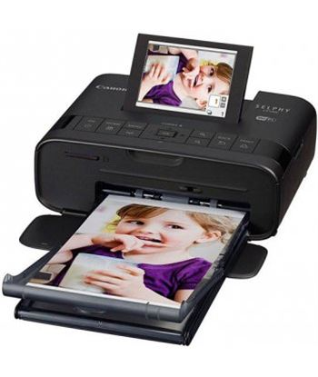 Impresora Canon selphy CP1300 negra Impresoras - 4549292090512