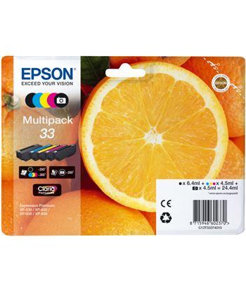 Multipack tinta Epson 33 claria premium 5 colores EPSCT13T3337401
