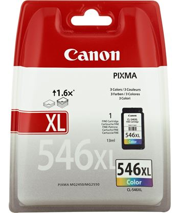 Tinta Canon cl546xl pixma/mg2450/mg2550 color CAN8288B001