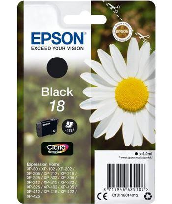 Tinta negra Epson 18 claria home EPSC13T18014012 Perifericos y accesorios