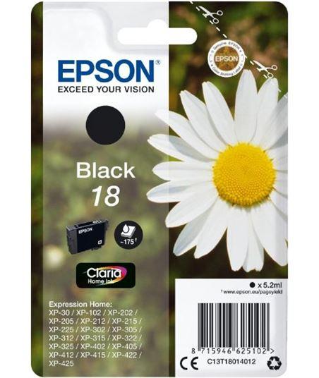 Tinta negra Epson 18 claria home EPSC13T18014012 Perifericos y accesorios - EPSC13T18014012