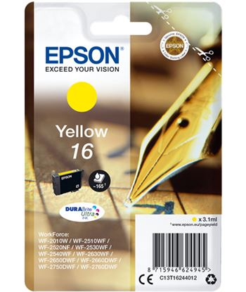 Tinta amarilla Epson 16 durabrite EPSC13T16244012
