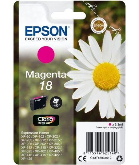 Tinta magenta Epson 18 claria home EPSC13T18034012 - EPSC13T18034012