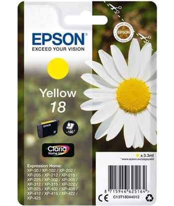 Tinta amarilla Epson 18 claria home EPSC13T18044012
