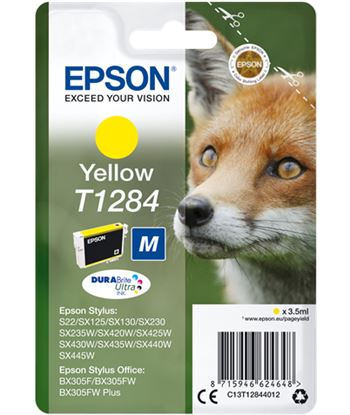 Tinta amarilla Epson ''1284'' EPSC13T12844012