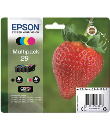 Multipack tinta Epson 29 claria home 4 colores C13T29864012