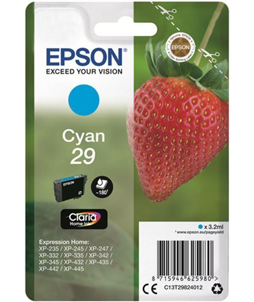 Tinta Epson 29 claria home cyan EPSC13T29824012 - EPSC13T29824012