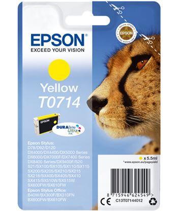 Tinta amarilla Epson ''714'' EPSC13T07144012