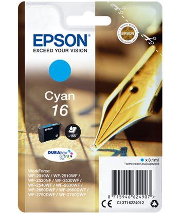 Tinta cian Epson 16 durabrite EPSC13T16224012 Perifericos y accesorios