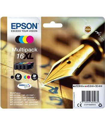 Multipack tinta 4 colores Epson durabrite 16 xl EPSC13T16364012 - EPSC13T16364012